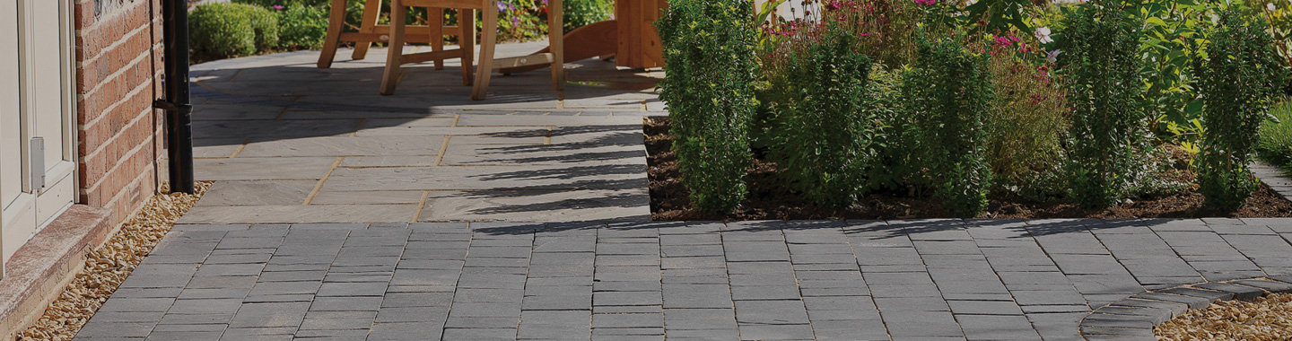 Natural Stone Paving for gardens and driveways