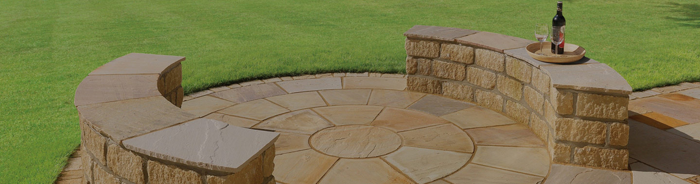 Natural Stone Features - sandstone, limestone, granite & slate features