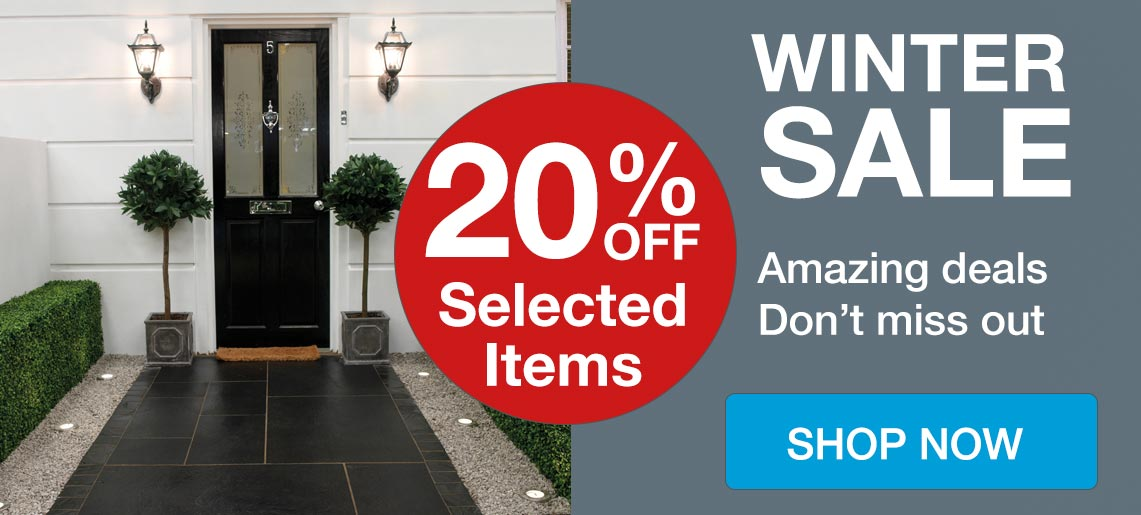 Winter Sale - Save Up to 20% Off