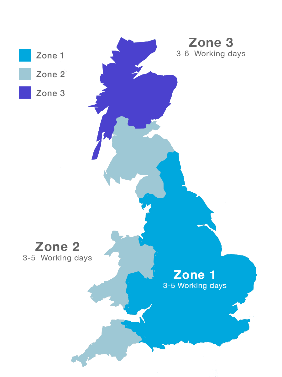 Paving Direct Shipping & Delivery Zones
